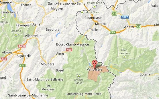 Un skieur originaire de Seine-Maritime se tue à Val d'Isère en faisant du hors piste