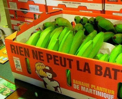 La poudre blanche était dissimulée dans les parois des cartons de bananes (Photo d'illustration)