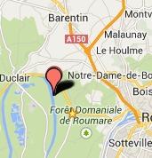 Seine-Maritime : Un homme non identifié découvert mort dans le plan d'eau d'une base nautique