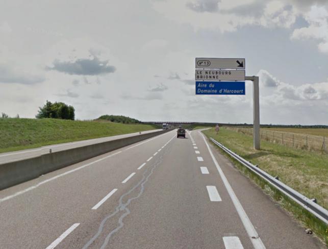 Les automobilistes circulant dans le sens Rouen -  Alençon doivent obligatoirement quitter l'autoroute à la sortie n°13 (Brionne)