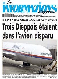 Une mère de famille et ses deux enfants originaires de Dieppe étaient à bord du Boeing disparu