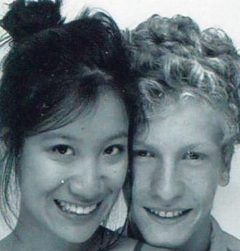 Hadrien, 17 ans et son amie Yan Zhao, 18 ans (Photo DR)