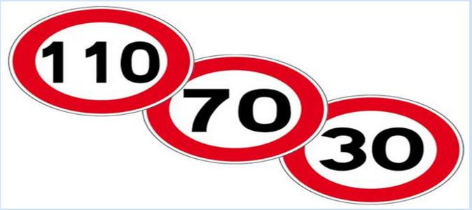 En Seine-Maritime, la vitesse est abaissée de 20 km/h en raison du pic de pollution