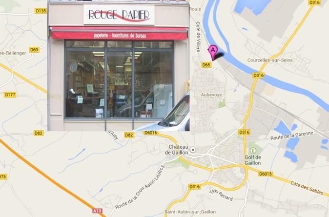 Les 9 000 m2 de la base logistique de RP Diffusion, fournisseur des magasins Rouge Papier, sont implantés à l'écart de la commune, dans une zone relativement isolée pas très loin de la Seine