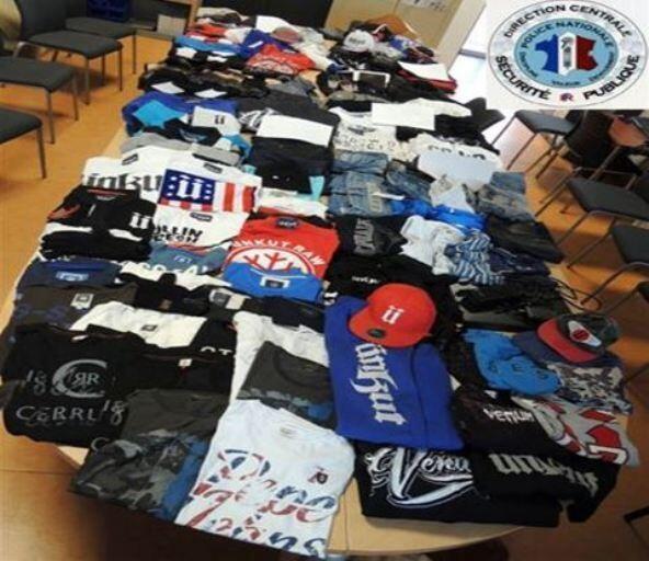 Une partie des marchandises a été retrouvée lors des perquisitions (Photo Police nationale)