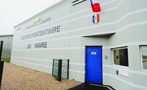 Trois des agresseurs de policiers ont été placés en détention au centre pénitentiaire de Saint-Aubin-Routot (Photo d'illustration)