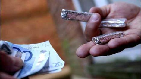 Des morceaux de cannabis et 750 euros dont la provenance est suspecte ont été saisis sur le conducteur de la Rover (Photo d'illustration)