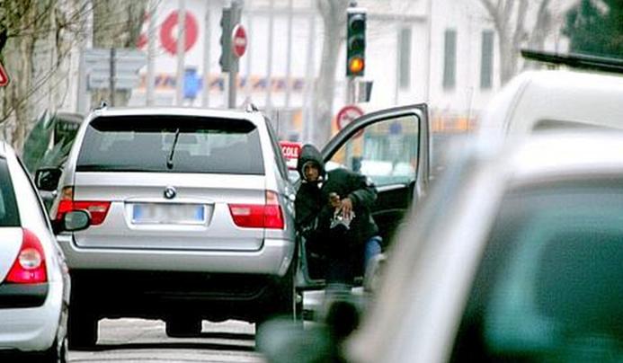 Le vol à la portière est une technique répandue dans le sud de la France (Photo d'illustration/Le Figaro)