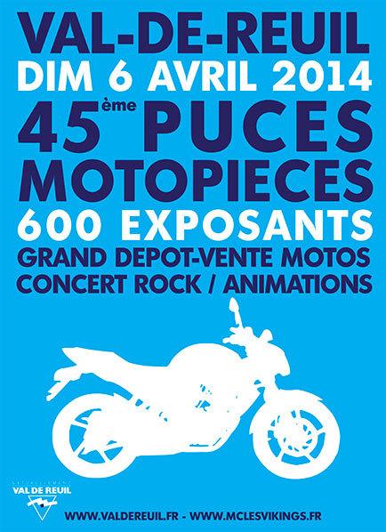40 000 visiteurs attendus ce dimanche aux puces moto à Val-de-Reuil