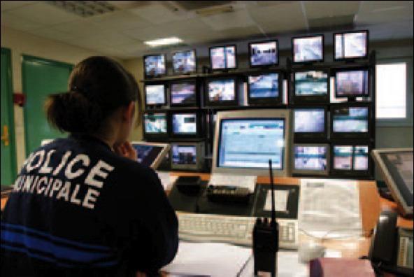 Les caméras du parking sont reliées à un centre de visionnage de la police municipale (Photo d'illustration)
