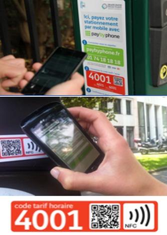 En décembre 2009, Vinci Park et PayByPhone avaient inauguré le 1er service de paiement du stationnement par téléphone portable en France à Issy-les-Moulineaux, en région parisienne. Depuis en France, ce sont déjà 50 000 places de stationnement en voirie qui sont équipées dans plus de 12 villes comme par exemple Issy-les-Moulineaux, Boulogne-Billancourt, Antony, Saint-Nazaire, Rueil-Malmaison, Bourg-la-Reine, Rambouillet, Asnières-sur-Seine, Neuilly-sur-Seine.