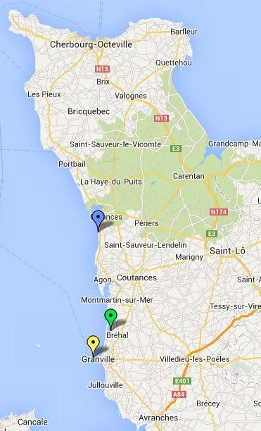 Six personnes à la mer et deux autres isolées par la marée : les secours maritimes sur tous les fronts dans le Cotentin