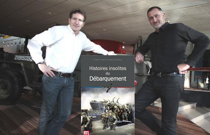 """Frédéric Leterreux ( à gauche) et Frédéric Veille ont voulu jeter un autre regard sur """"le jour le plus long""""  (Photo DR)"""