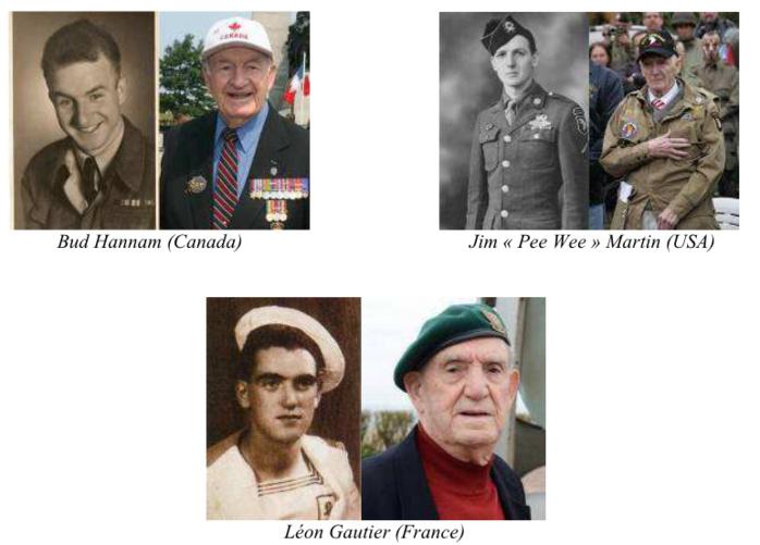 900 Français, Anglais et Américains sont invités : hommage particulier aux vétérans du D-Day