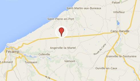 La victime a été découverte sur le bas-côté de D925 à hauteur d'Angerville-la-Martel