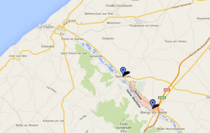 Le voleur de voiture a été interpellé à Gamaches après une course poursuite de six kilomètres avec les gendarmes
