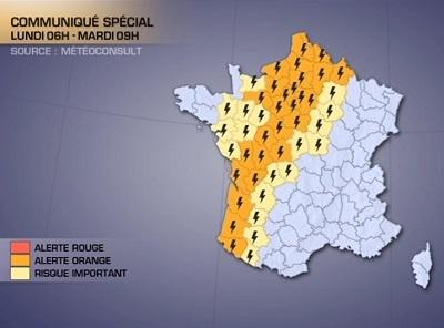 Des grêlons gros comme des balles de golf sont tombés dans les Yvelines et le Val d'Oise