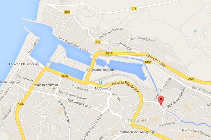 La quinquagénaire se serait jetée dans la rivière rue du Petit Moulin. Son corps a été retrouvé à hauteur de l'écluse