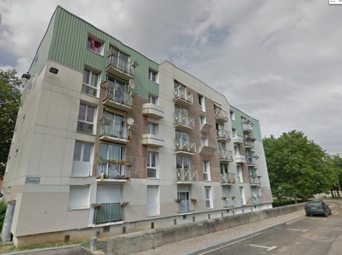 Fernandina occupait un appartement au 1er étage de l'immeuble Bouvier, dans le quartier de la Lombardie, un quartier des Hauts de Rouen (@Google Maps)