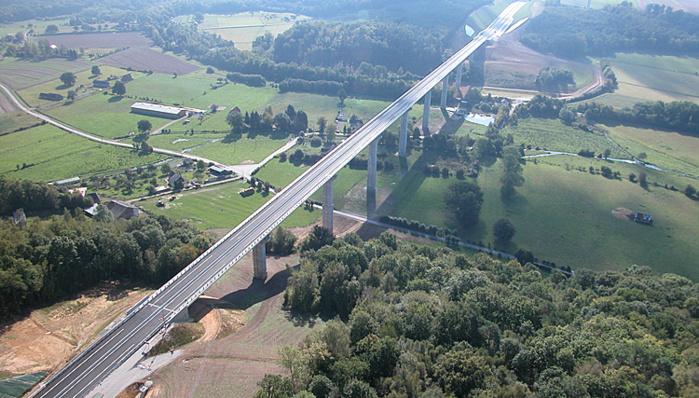 Le désespéré s'est jeté du viaduc du Bec, entre Bernay et Brionne