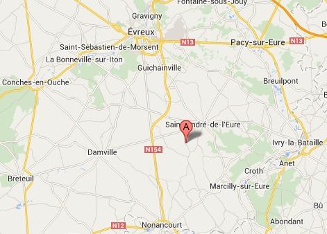 Eure : deux personnes ensevelies dans l'explosion d'un pavillon ce matin à Coudres