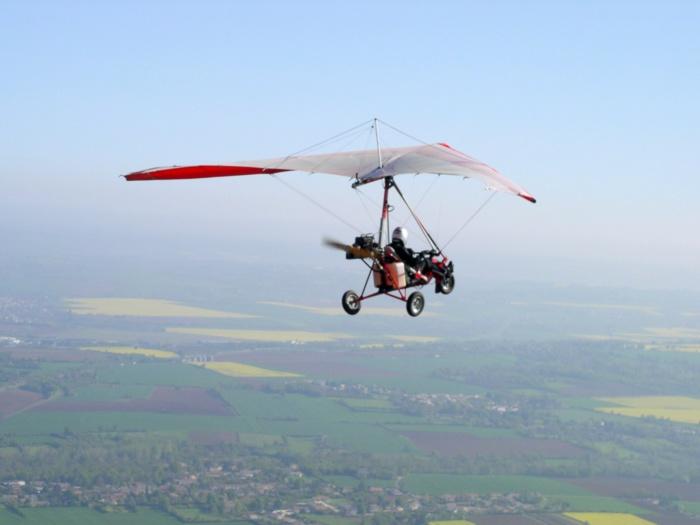 Pour piloter seul un pendulaire il faut disposer du brevet ULM  (Photo d'illustration)