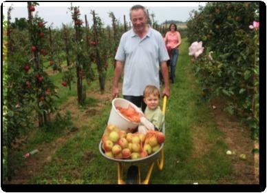 Après avoir rencontré Jackie Lemaire, les pommes et les poires n'auront plus aucun secret pour vous (Photo DR)
