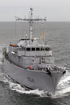 Le chasseur de mines Eridan (photo Marine nationale)