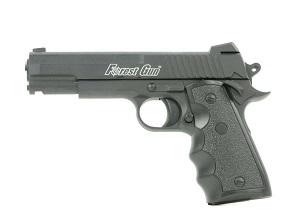 L'agresseur de l'agent de sécurité était armé d'un pistolet Forest gun, une arme factice en métal mais qui peut impressionner