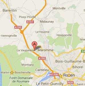 Près de Rouen : un jeune homme blessé à coups de couteau à la gorge et à l'abdomen