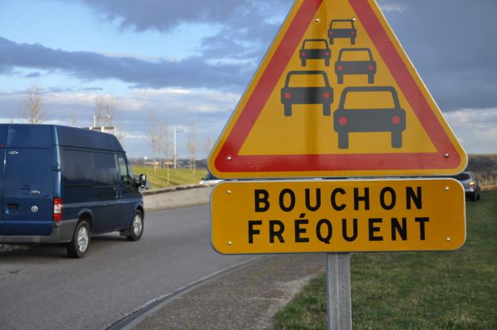 Inforoute : bouchons, ralentissements et accident en Normandie