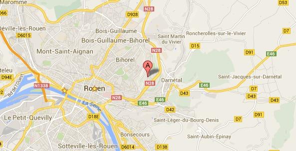 Rouen : un enfant de 4 ans percuté sur le trottoir, il est grièvement blessé