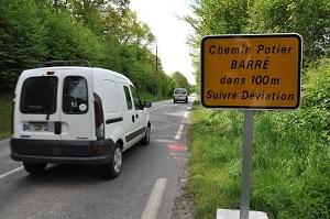 Déviation sud-ouest d'Évreux : la réouverture du Chemin Potier retardée au mardi 26 août