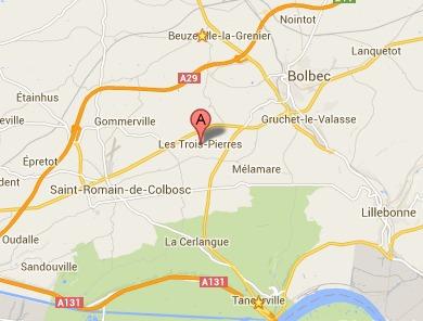 Trois blessés, dont deux graves, dans une collision ce matin près de Bolbec