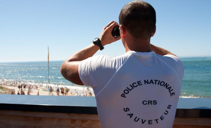 Le voleur de sac de la plage du Havre était dans les jumelles du CRS