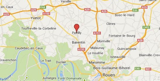 Bruit d'explosion dans un immeuble de 8 étages à Pavilly : plusieurs appartements embrasés, pas de blessé