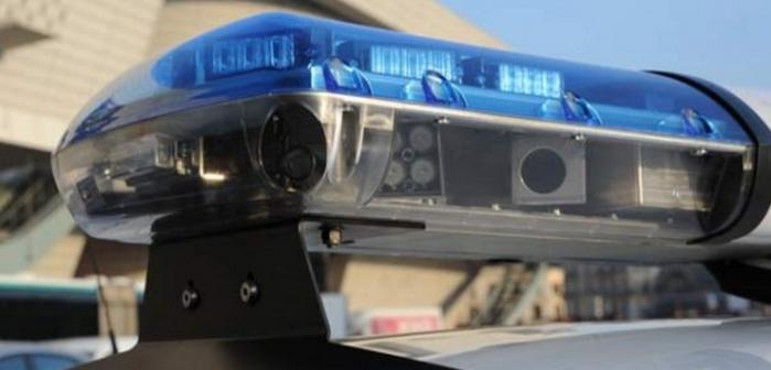 Plusieurs caméras embarquées dans la barre lumineuse des véhicules de police, de gendarmerie ou de la douane permettent de lire en temps réel les plaques d'immatriculation et de détecter les voitures volées (Photo d'illustration)