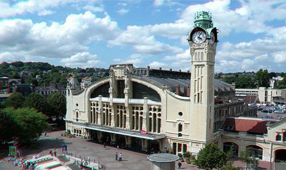 L'agression s'est produite dans le quartier de la gare SNCF à Rouen (Photo d'illustration)