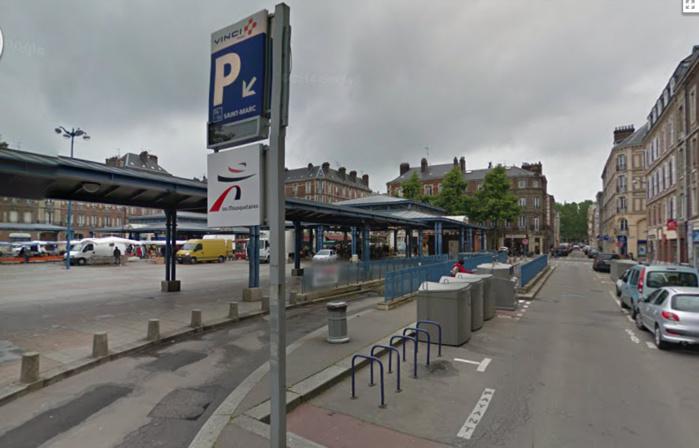 L'agresseur privilégiait les parkings souterrains pour agresser et voler ses victimes, comme ici dans le parking de la place Saint-Marc (Photo d'illustration)