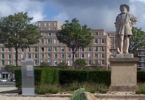 La statue François 1er a désormais fière allure (Photo : Ville du Havre)