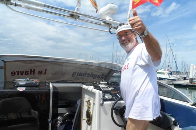 Peter Reffert, un retraité heureux à la découverte de la France