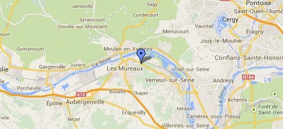 Un motard grièvement blessé route de Verneuil aux Mureaux