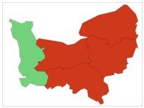 Quatre des cinq départements normands sont concernés par l'alerte aux particules aujourd'hui samedi et demain