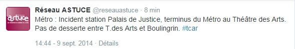 Le Palais de justice de Rouen vient d'être évacué pour un colis suspect