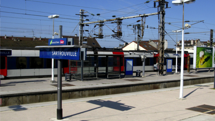 La gare du RER A de Sartrouville (Photo d'illustration)