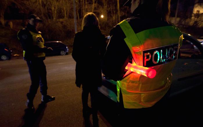 Les forces de police ont dû intervenir à plusieurs reprises dans la soirée de mardi pour ramener le calme dans le secteur du square Léo Lagrange (Photo d'illustration DGPN)