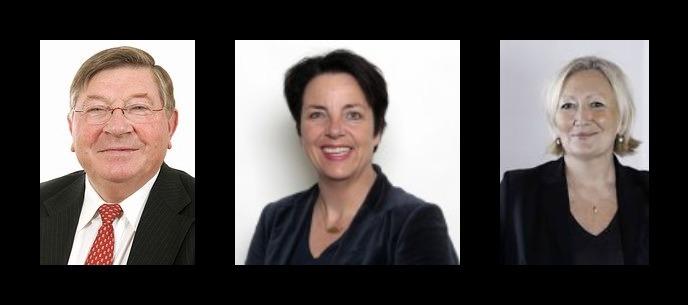Les élus de droite : Charles Revet, Agnès Canayer, Catherine Morin-Desailly