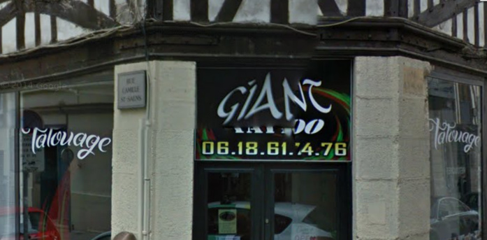 Interpellation à Rouen : la jeune femme au sac poubelle venait de cambrioler un tatoueur