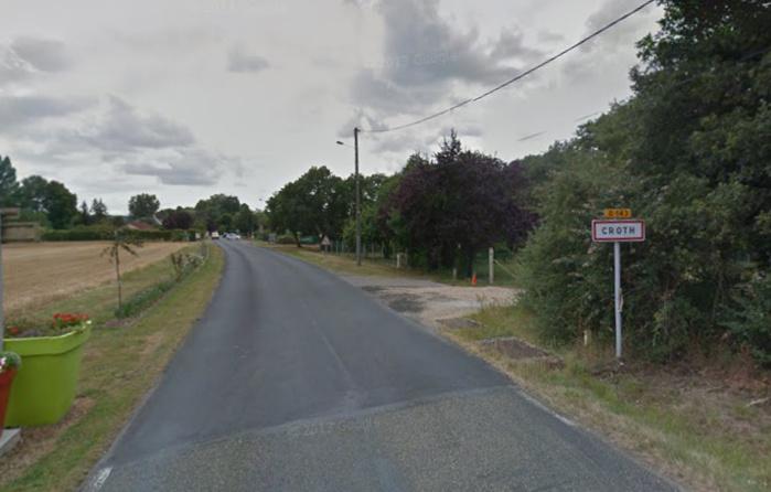 La collision est survenue sur la D143 qui relie Croth et Ezy-sur-Eure