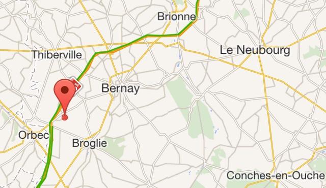 Accident mortel dans l'Eure : l'autoroute A28 coupée vers Rouen ce matin